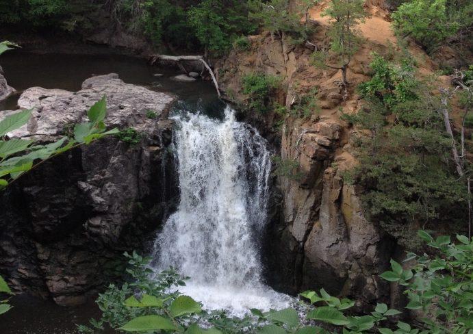 Ramsey Falls Waterfall